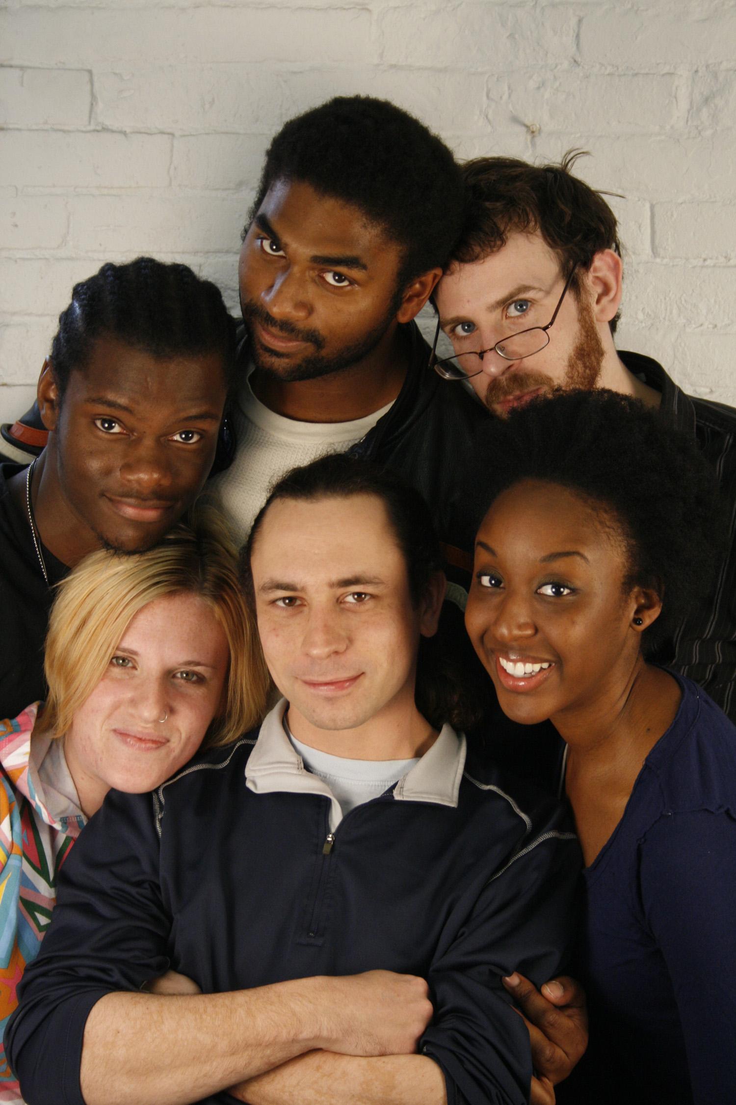 Top: Tory Bullock, Nik Walker, Danny Balel Bottom: Terri Deletetsky, DJ Reazon, Marvelyn McFarlane