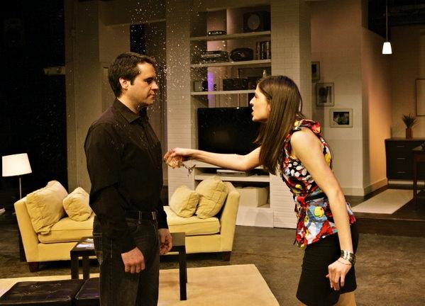 Dennis Trainor J. (Cash) and Philina Mia (Kalina)
