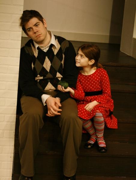 Joe Lanza (Clay)  and Rebecca Skye Hamberg (Kayla)