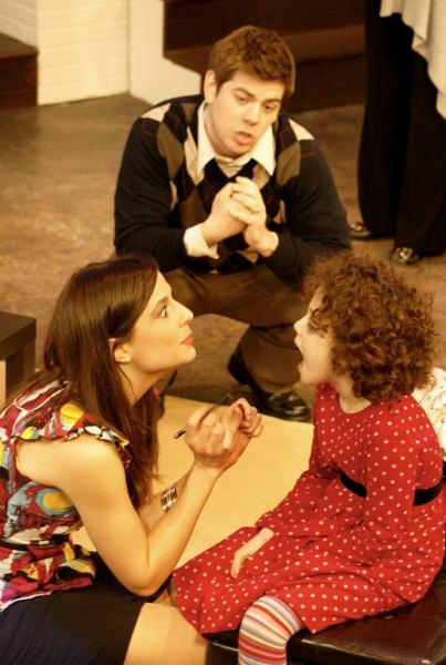 Front: Philana Mia (Kalina)  and Abigail Steinman (Kayla) Back: Joe Lanza (Clay)