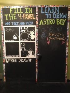 AB lobby chalkboard