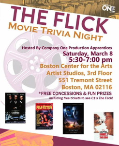 FLICK BYE movie trivia poster