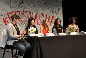 Geek theatre panel