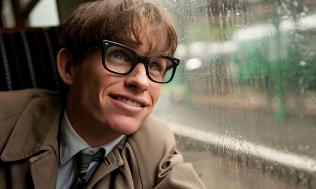 Eddie Redmayne as Stephen Hawking in The Theory of Everything. Photograph: Liam Daniel/AP