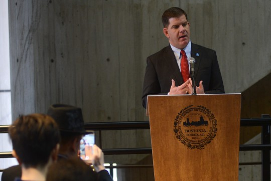 Boston Mayor Martin J. Walsh. (Jeremiah Robinson/mayor's office)