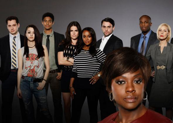 The cast of How to Get Away With Murder. Photo by ABC Studios.