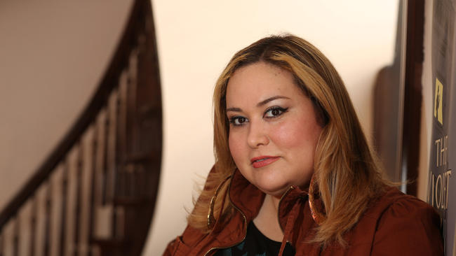 Playwright, TV writer and now Starz showrunner Tanya Saracho, photographed in Chicago in 2014 (Nancy Stone/Chicago Tribune) (Nancy Stone / Chicago Tribune)