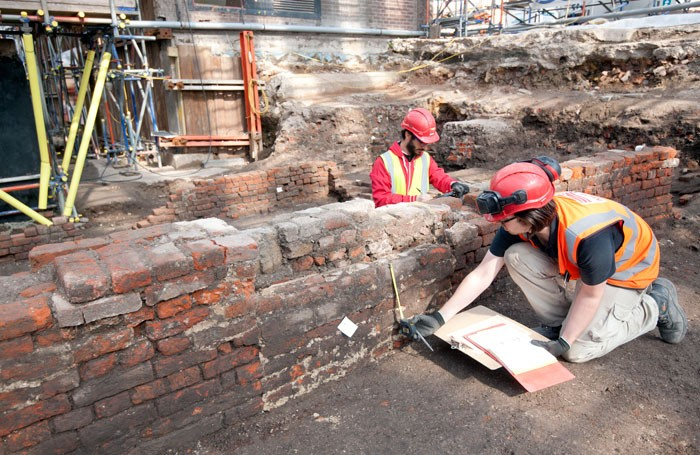 Archaeologists uncover remains of London's historic Curtain Theatre